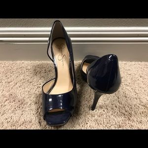 Jessica Simpson brand new navy blue heels
